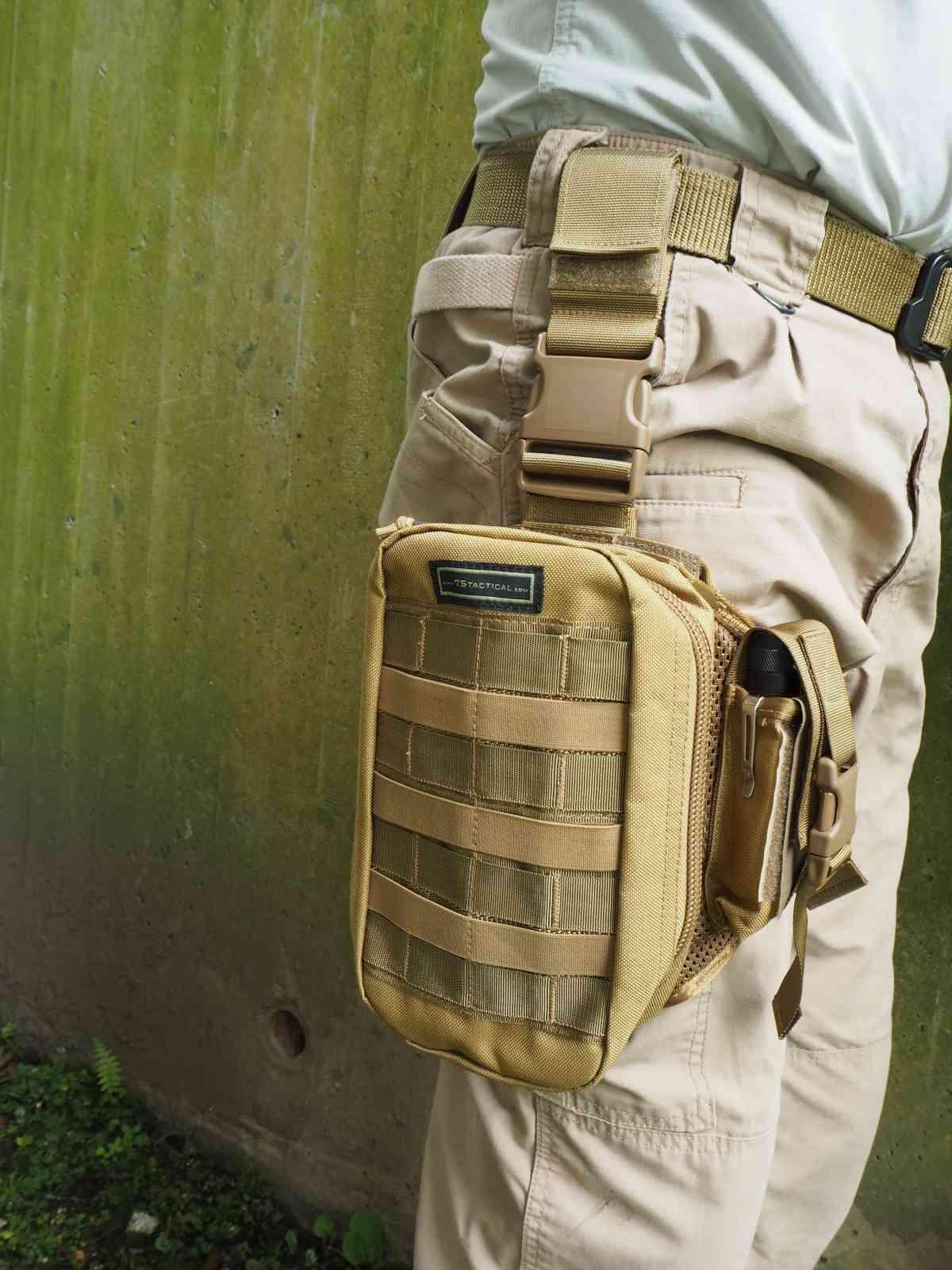 75Tactical EOD-Tasche E1 - Gute Verarbeitung