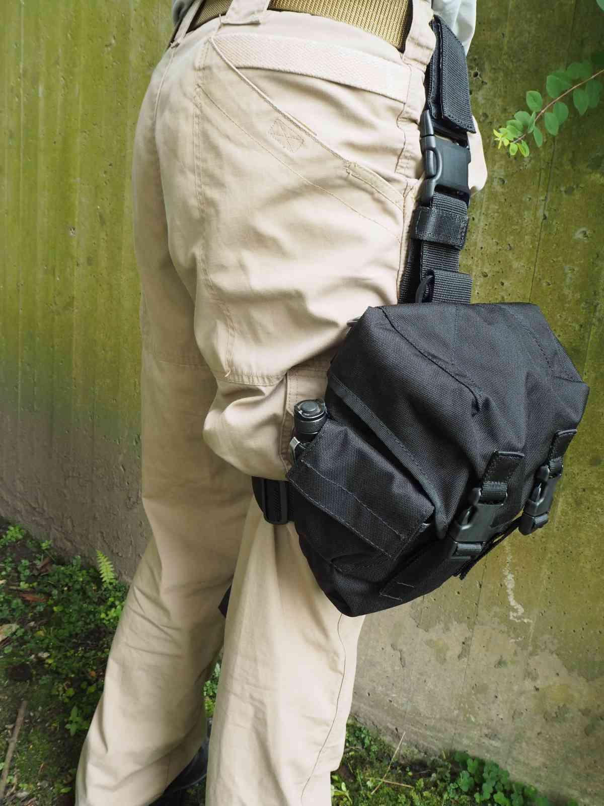 Cop Oberschenkeltasche - Perfekter Sitz geht anders
