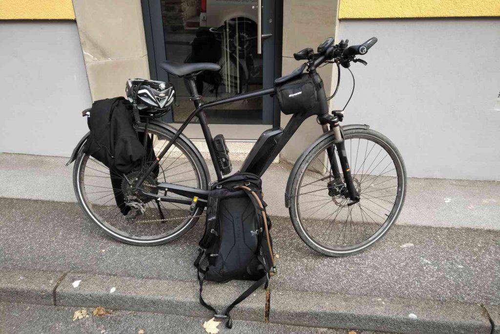 Radtour zum Altenberger Dom - Alles gepackt!