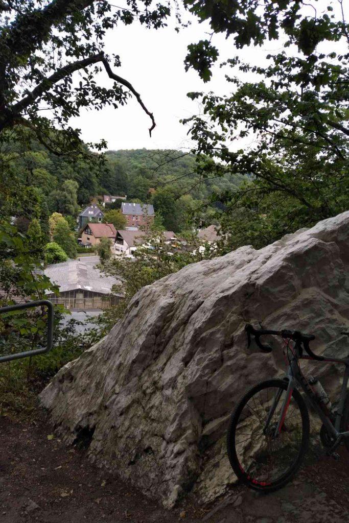 Radtour zum Altenberger Dom - Rast in Solingen