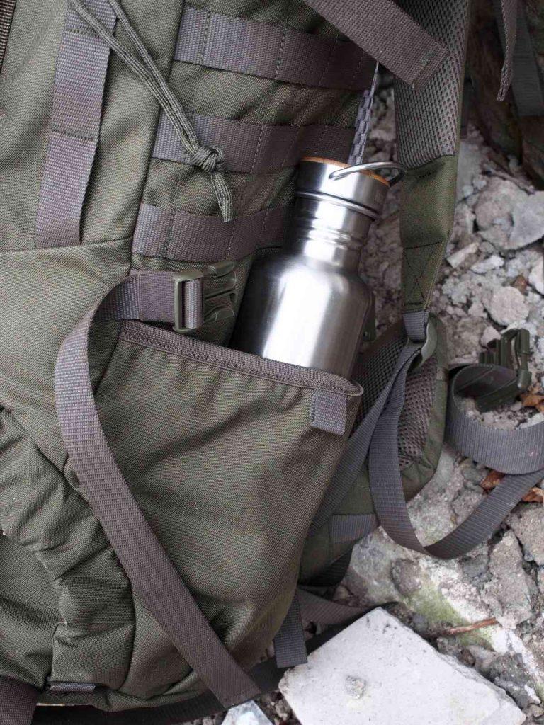 Tasmanian Tiger Pathfinder MKII - Seitliche Einschübe für Trinkflaschen
