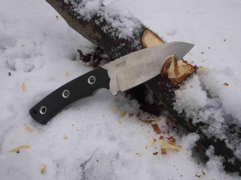 Messerdepot SK-04 Tactical - Harte Holzarbeit