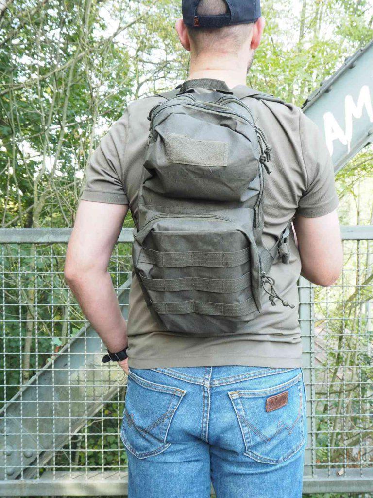 Highlander Scout Pack - Keine Kompressionsriemen und lautes Material