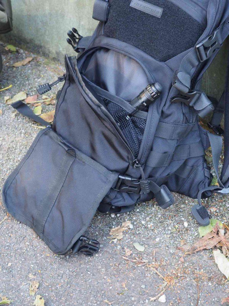 Nitecore BP20 - Frontfach und Halterung für Helm oder Waffe