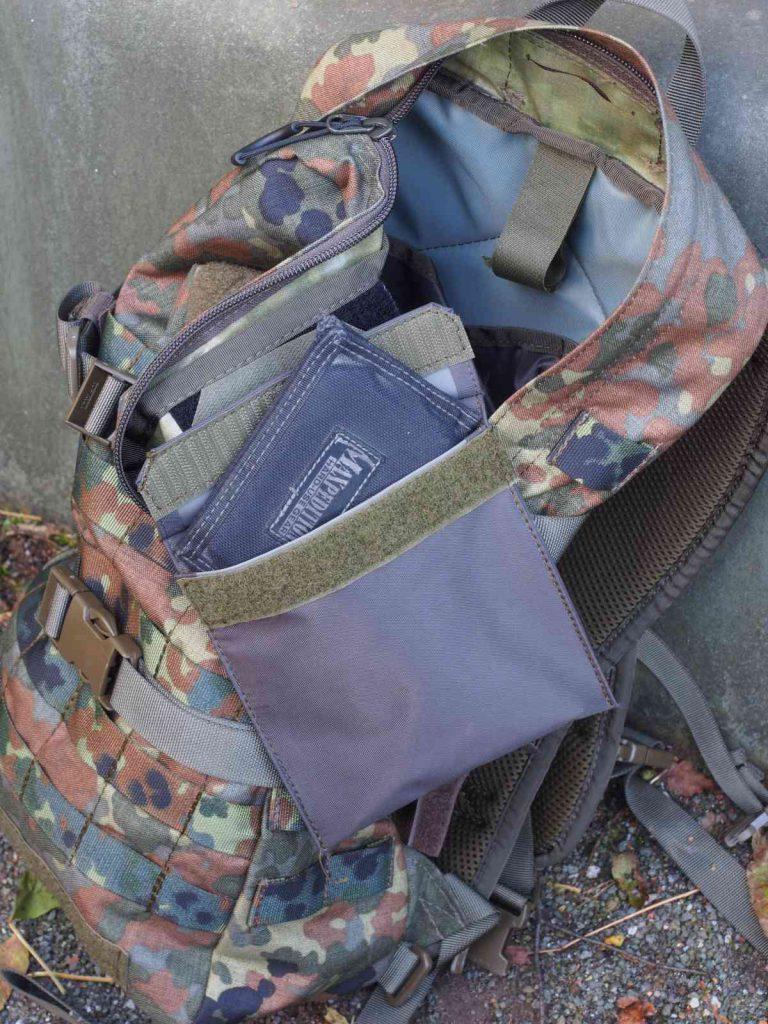 Zentauron Sprinter Pack - Klettbare Zusatztasche