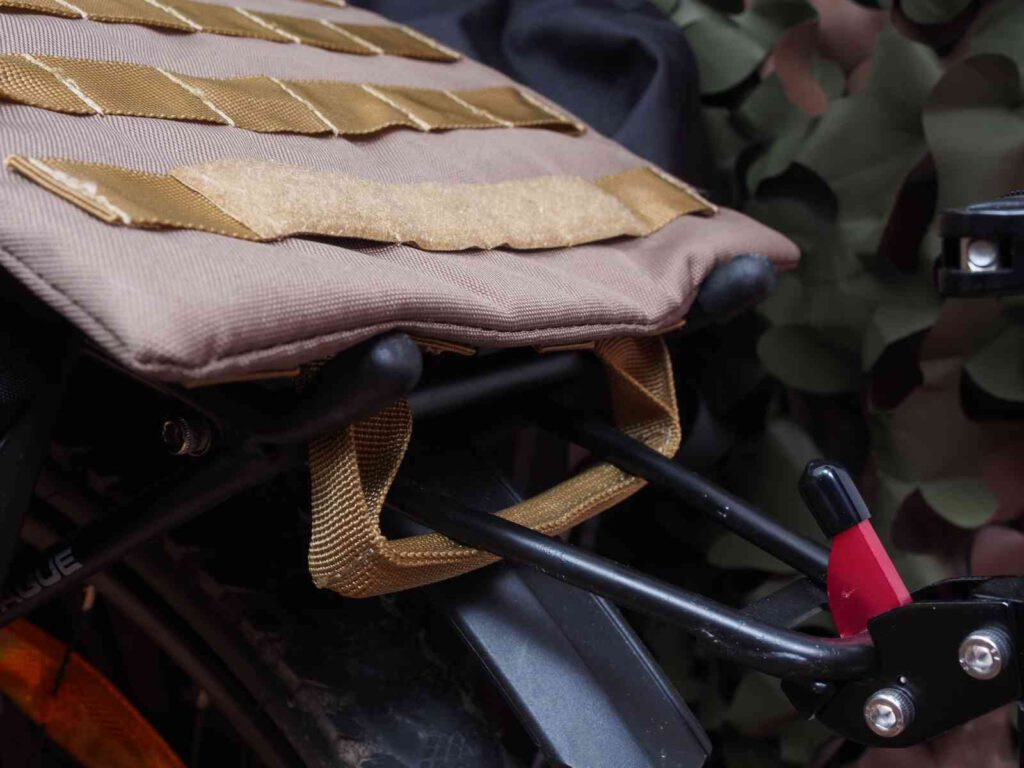 Befestigung am Gepäckträger