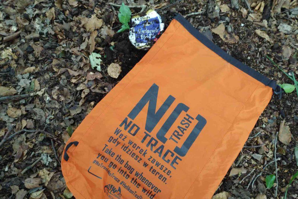 Müll im Wald muss nicht sein