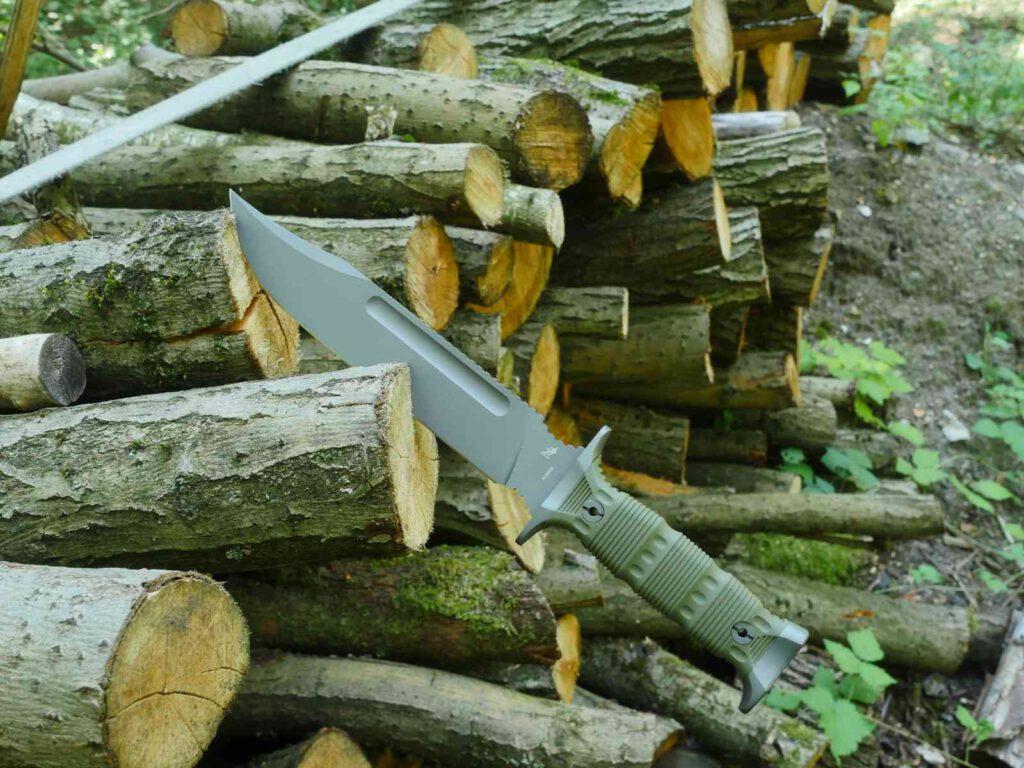 Auch als Holzspalter geeignet