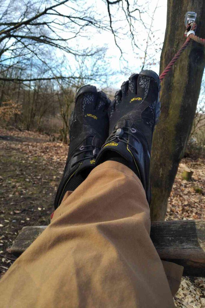 Entspanntes Fußgefühl