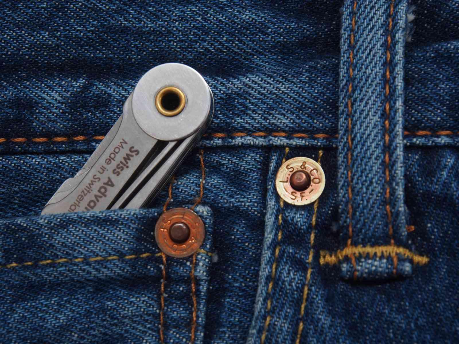 Swiss Advance Taschenmesser - Passt in die kleinste Tasche