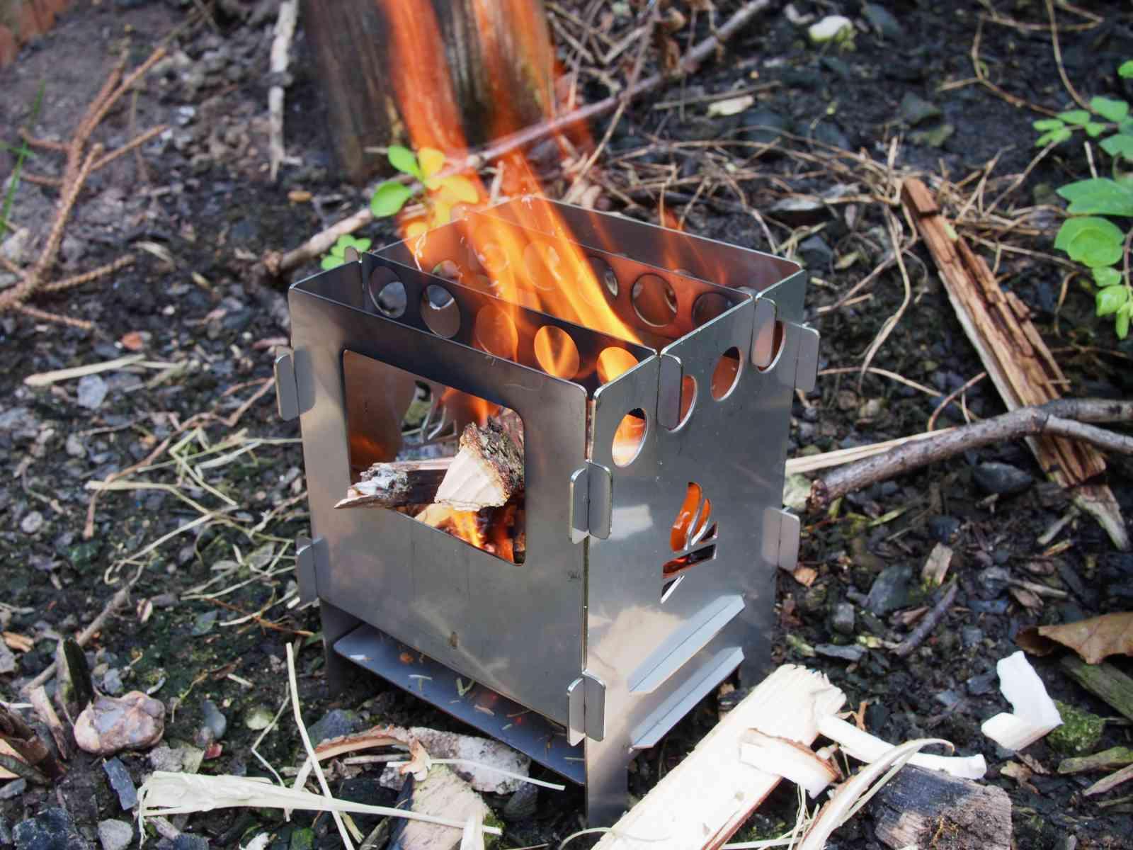 Bushcraft Essentials Bushbox - In Aktion