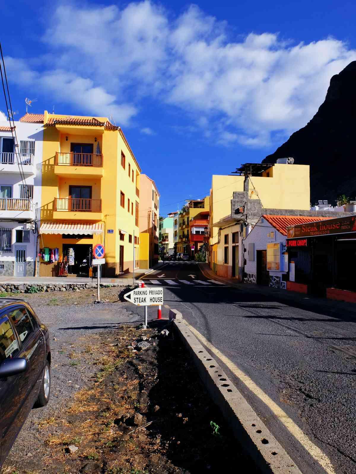 Valle Gran Rey - Kleine, farbige Häuser
