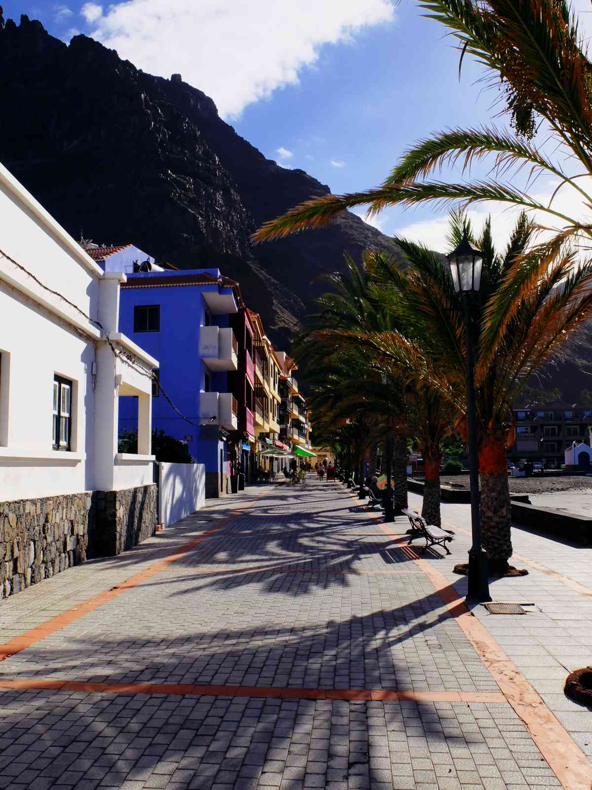 Valle Gran Rey - Strandpromenade