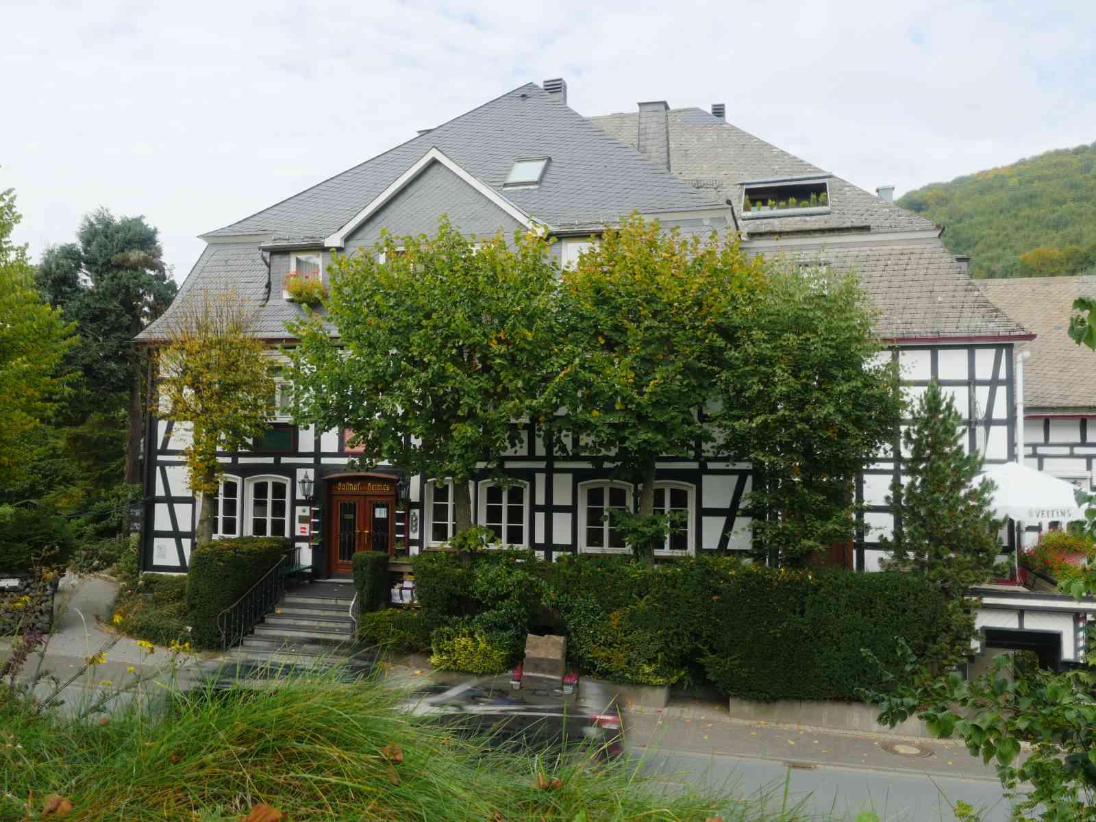 Auf den Wilzenberg - Gasthof Heimes