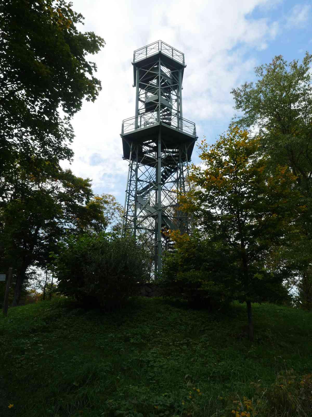 Auf den Wilzenberg - Aussichtsturm