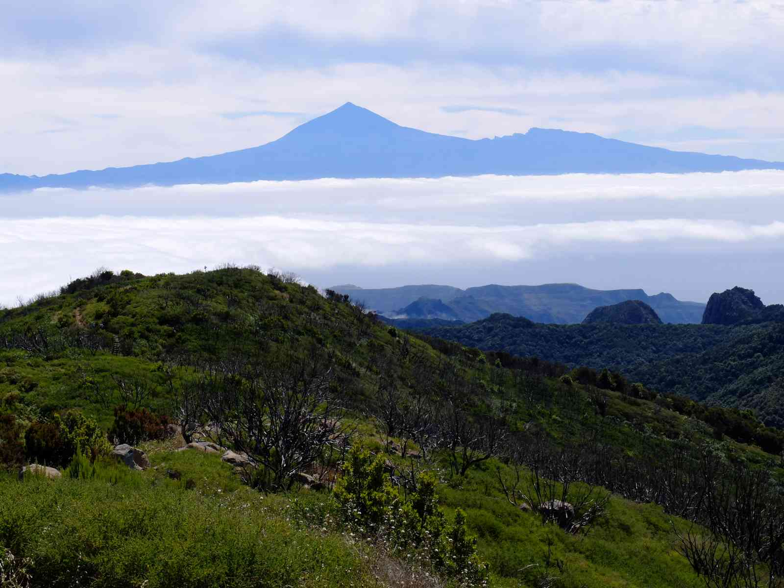 Die höchsten Berge von La Gomera - Der Teide