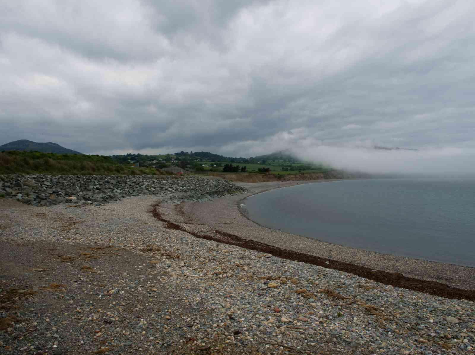 Küstenwanderung - Wetterumschwung