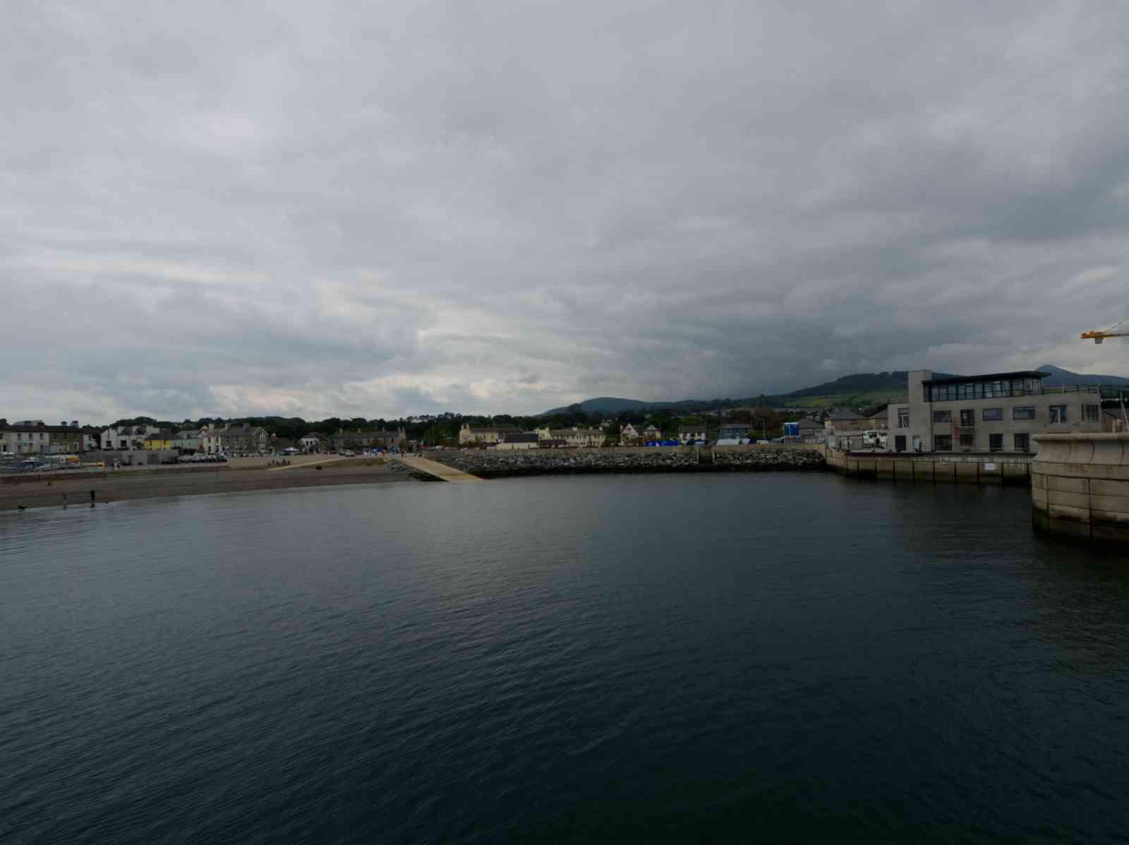 Küstenwanderung - Der Hafen von Greystones