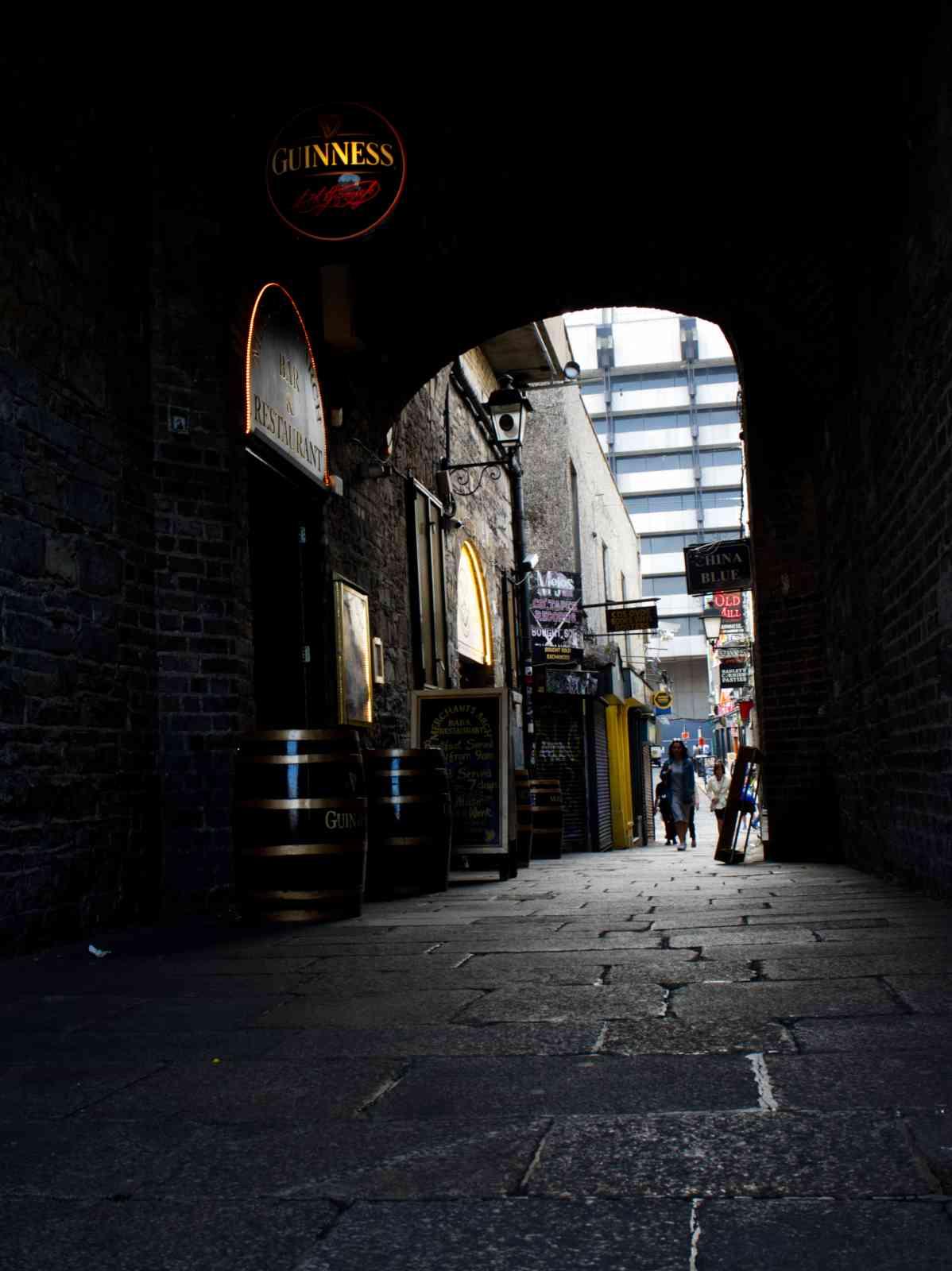 Dublin - Temple Bar Bezirk