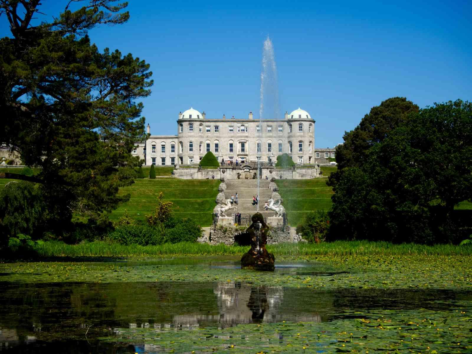 Irland - Powerscourt Garden