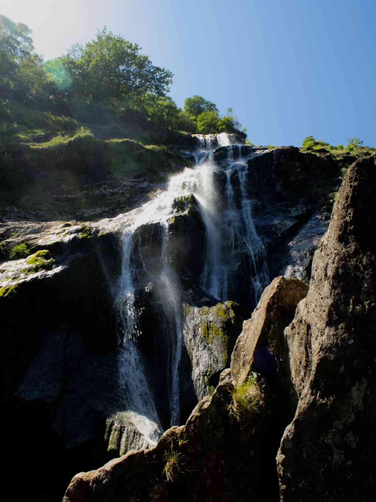 Irland - Powerscourt Waterfall