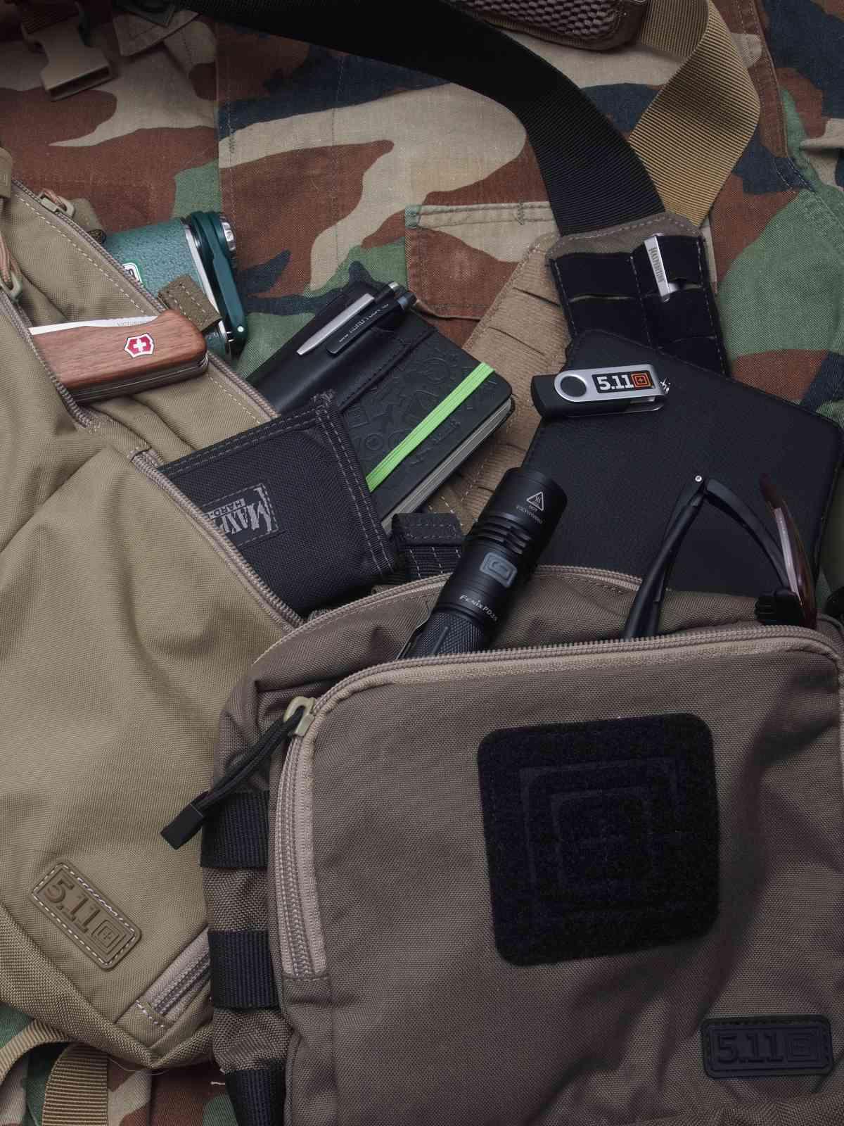 5.11Tactical Banger Bags - Da passt ordentlich was rein