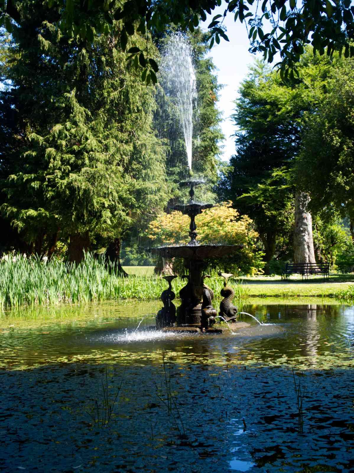 Powerscourt Gardens - Dolphin-Pond