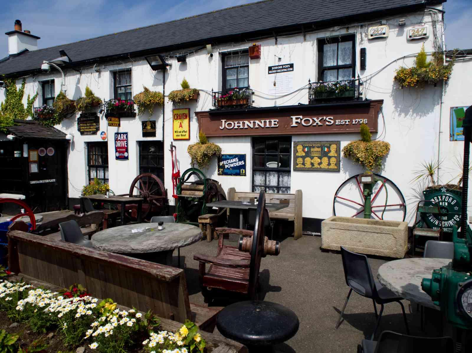 Prince William's Seat - Johnnie Fox's Pub