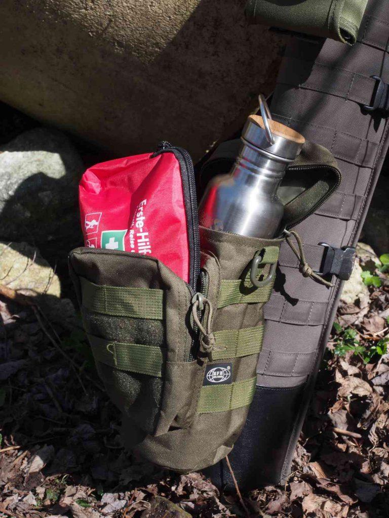 Pfeilköcher 2in1 Military - Die Zusatztaschen von MFH bieten sehr viel Platz
