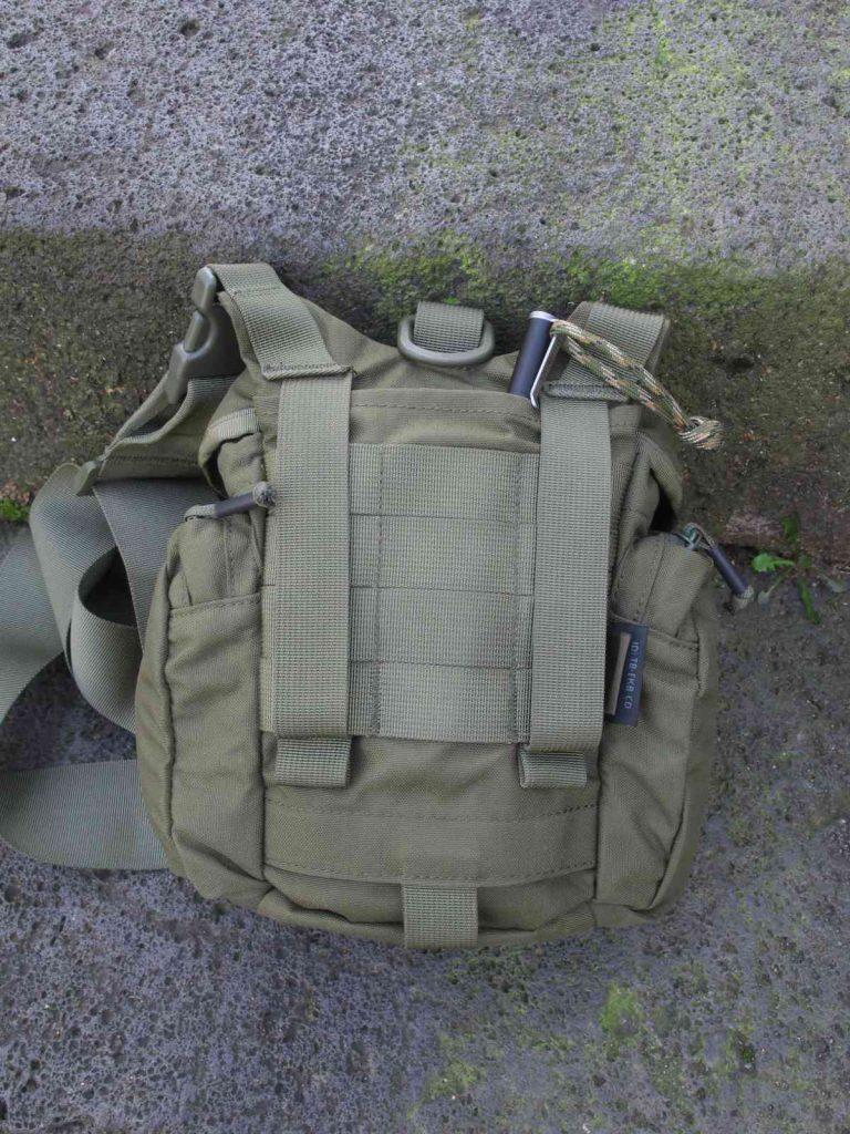 Helikon-Tex Essential Kitbag - Durchdachte Rückseite
