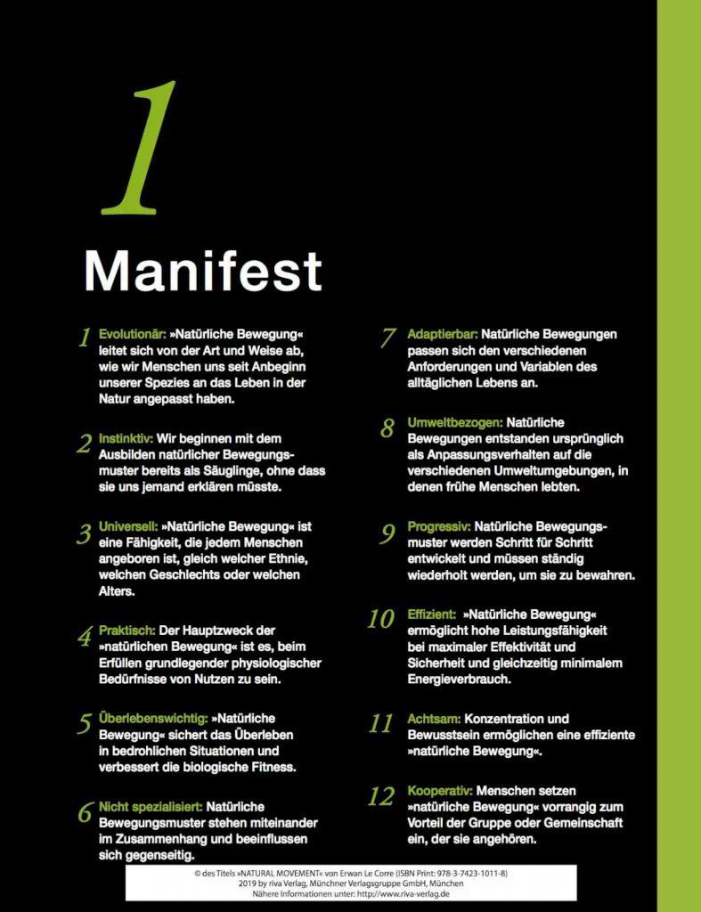 Erwan Le Corre - Natural Movement: Das Manifest