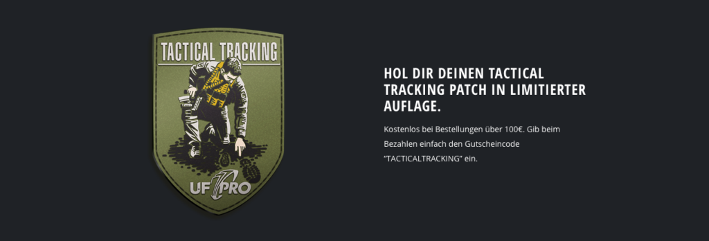 UF Pro Tactical Tracking Patch