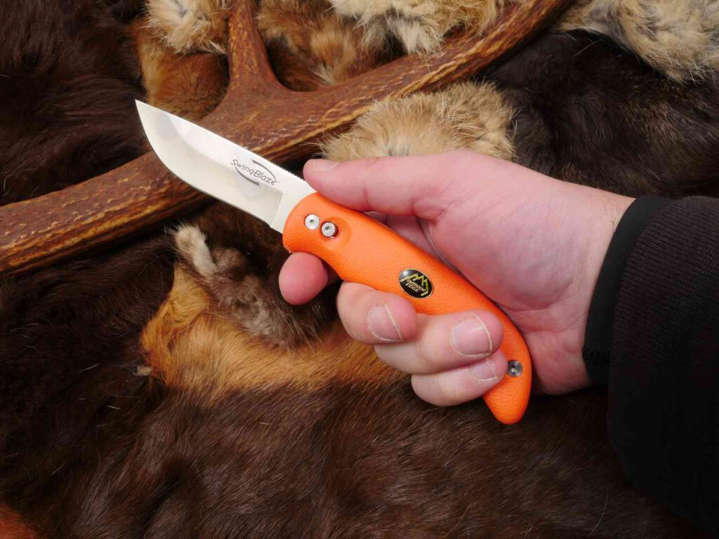 Die Handlage des Messers
