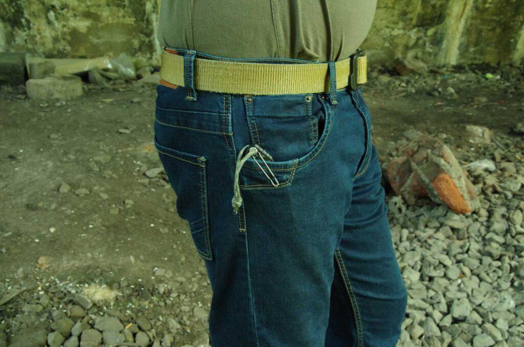 Verstärkte Taschen