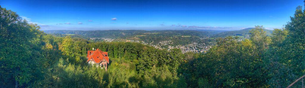 Blick vom Malbergturm